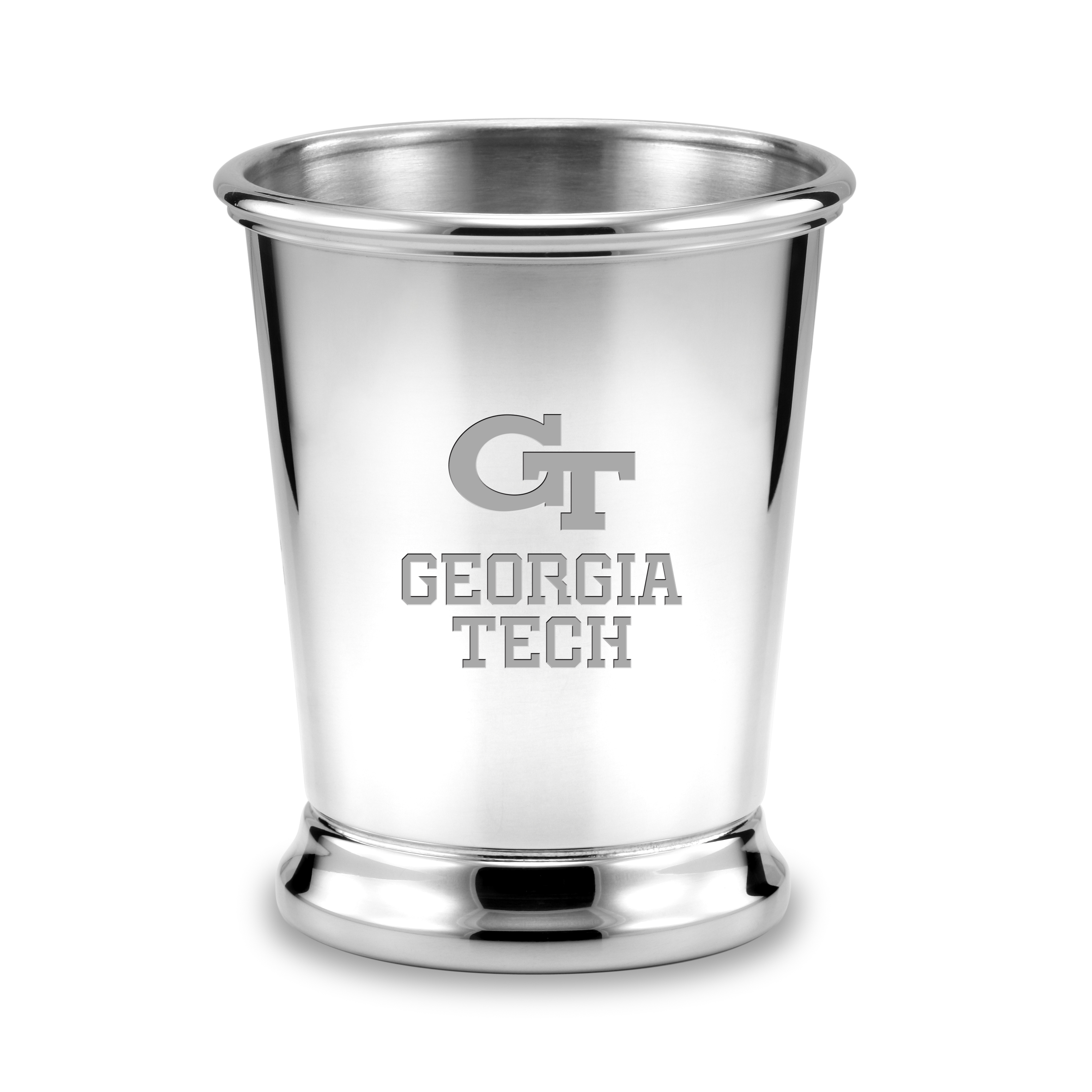 Georgia Tech Pewter Julep Cup