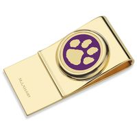 Clemson Enamel Money Clip