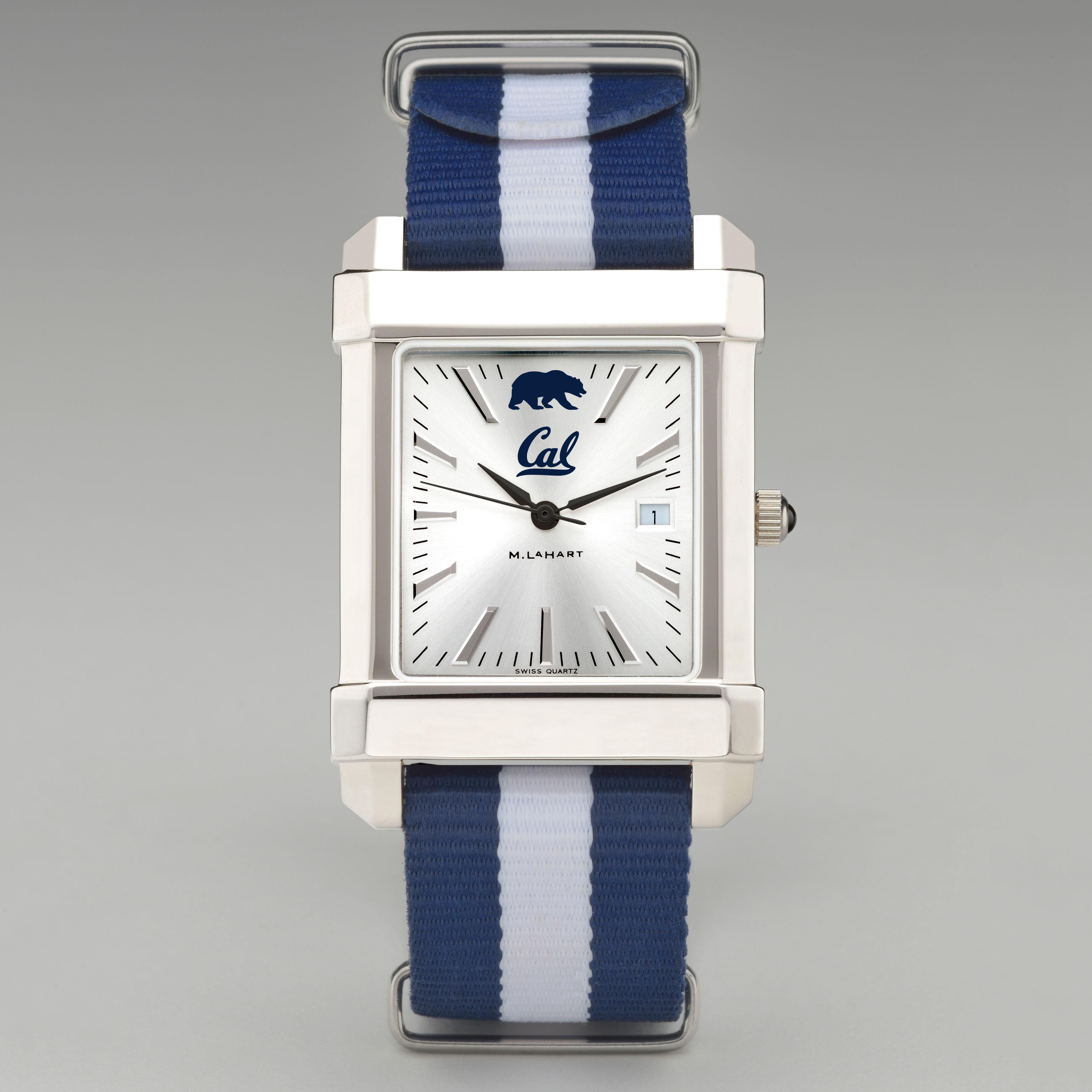 Berkeley Men's Collegiate Watch w/ NATO Strap