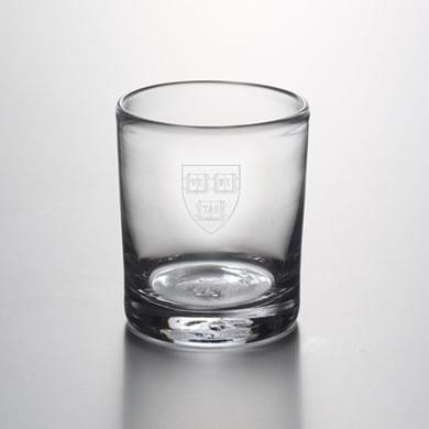 Harvard Double Old Fashioned Glass by Simon Pearce
