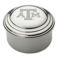 Texas A&M Pewter Keepsake Box