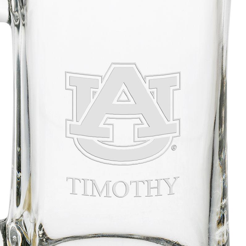 Auburn 25 OZ Glass Stein