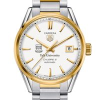 Yale Men's TAG Heuer Two-Tone Carrera with Bracelet