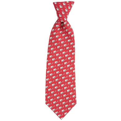 Alabama Vineyard Vines Tie in Red