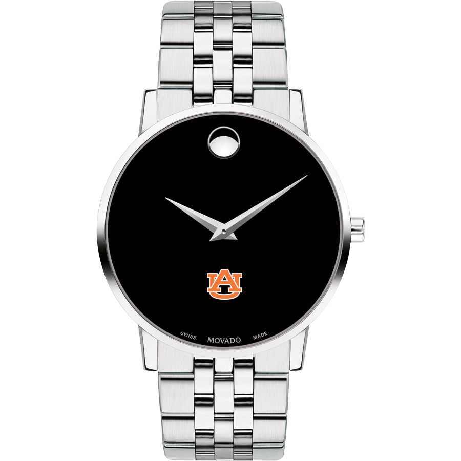 Auburn Men's Movado Museum with Bracelet
