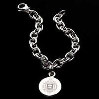 Naval Academy Sterling Silver Charm Bracelet