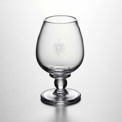 USNA Glass Brandy Snifter by Simon Pearce