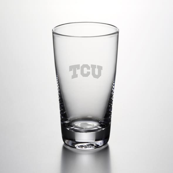 TCU Pint Glass by Simon Pearce