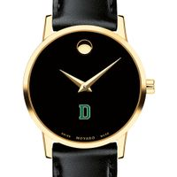 Dartmouth College Women's Movado Gold Museum Classic Leather