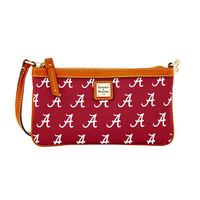 Alabama Dooney & Bourke Large Slim Wristlet