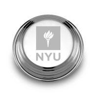NYU Pewter Paperweight