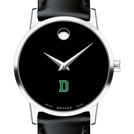 Dartmouth Women's Movado Museum with Leather Strap