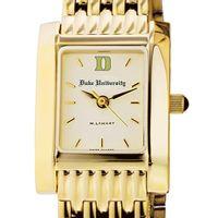 Duke Women's Gold Quad Watch with Bracelet