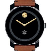William & Mary Men's Movado BOLD with Brown Leather Strap