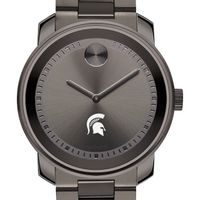 Michigan State Men's Movado BOLD Gunmetal Grey