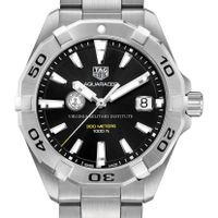 VMI Men's TAG Heuer Steel Aquaracer with Black Dial