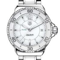 William & Mary Women's TAG Heuer Formula 1 Ceramic Diamond Watch