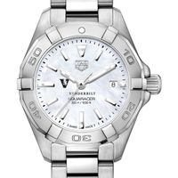 Vanderbilt Women's TAG Heuer Steel Aquaracer with MOP Dial
