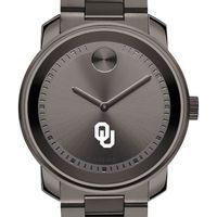 Oklahoma Men's Movado BOLD Gunmetal Grey