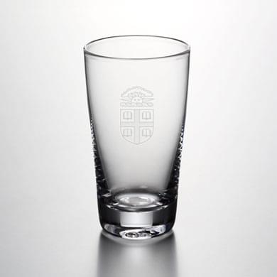 Brown Pint Glass by Simon Pearce