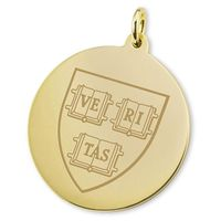 Harvard 18K Gold Charm