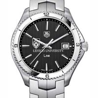 Lehigh TAG Heuer Men's Link Watch with Black Dial