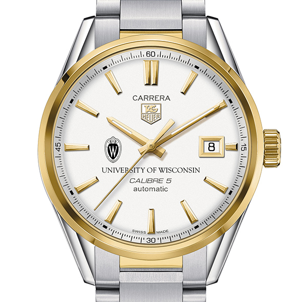 Wisconsin Men's TAG Heuer Two-Tone Carrera with Bracelet