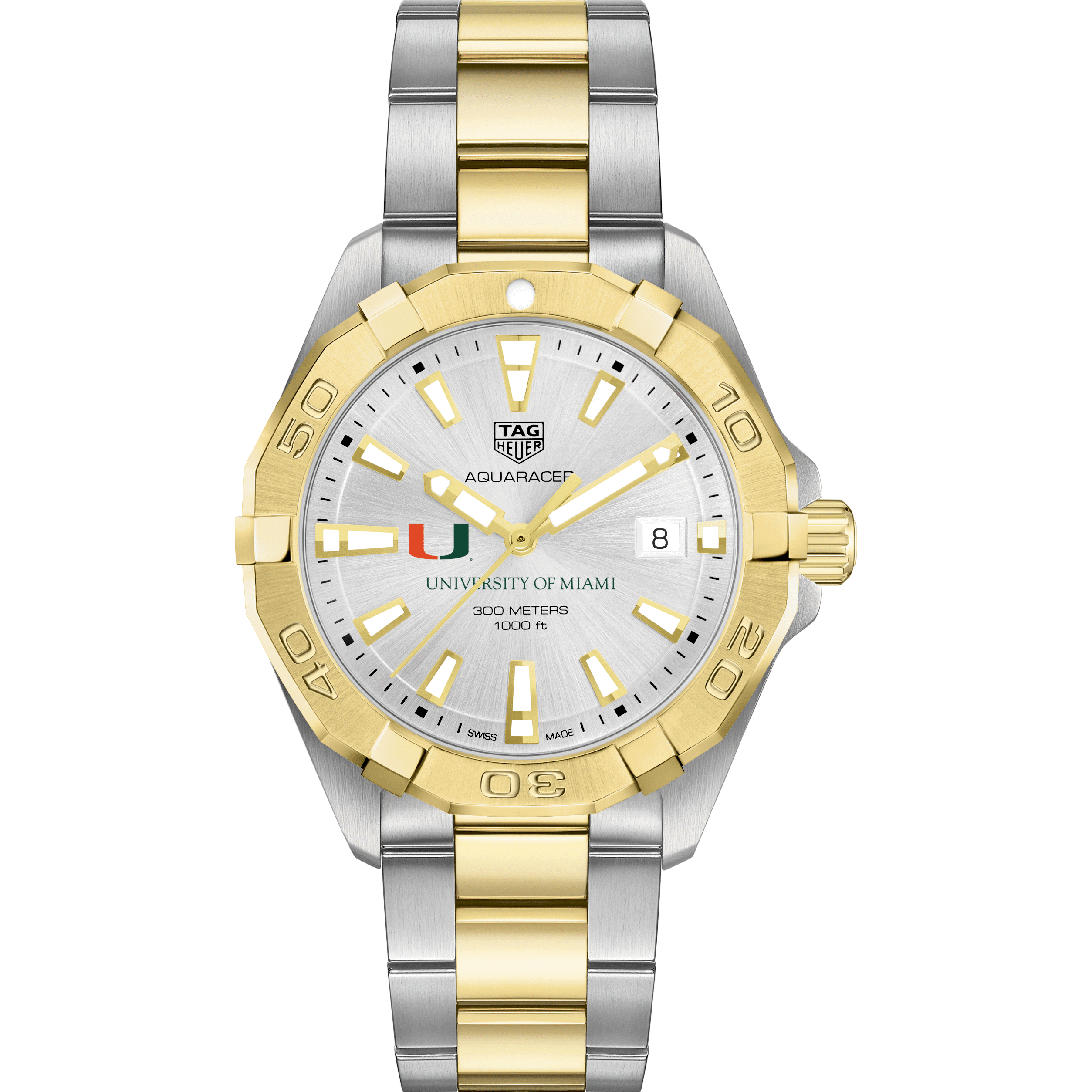Miami Men's TAG Heuer Two-Tone Aquaracer