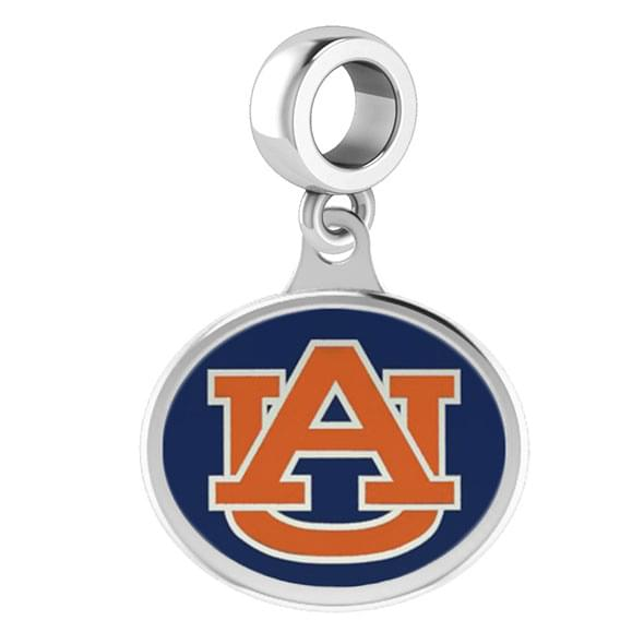 Auburn Round Enameled Drop Charm