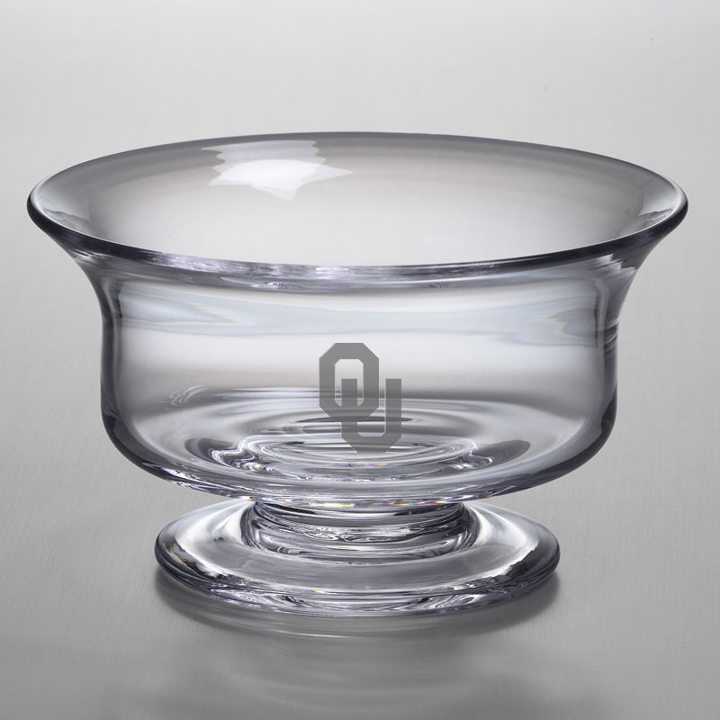 Oklahoma Large Glass Revere Bowl by Simon Pearce