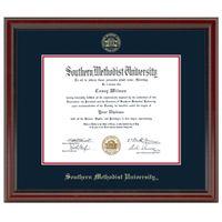 SMU Fidelitas Diploma Frame Masters/Ph.D.