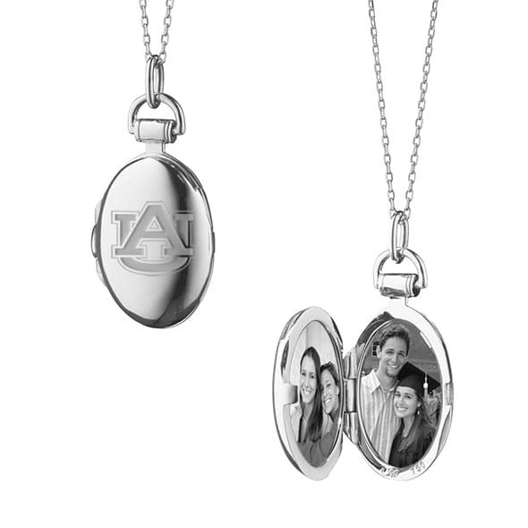 Auburn Monica Rich Kosann Petite Locket in Silver