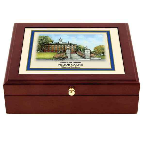 Williams College Eglomise Desk Box