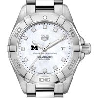 Michigan Women's TAG Heuer Steel Aquaracer with MOP Diamond Dial