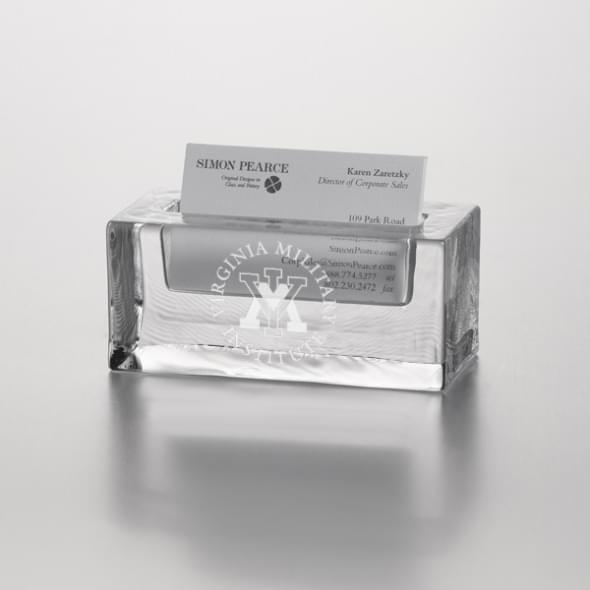 VMI Glass Cardholder by Simon Pearce
