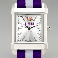 LSU Men's Collegiate Watch w/ NATO Strap