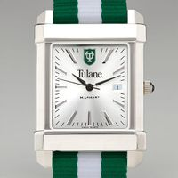 Tulane Men's Collegiate Watch w/ NATO Strap