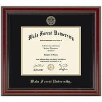 Wake Forest Fidelitas Diploma Frame