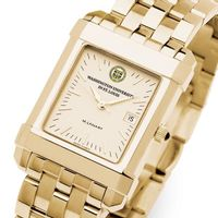 WUSTL Men's Gold Quad Watch with Bracelet