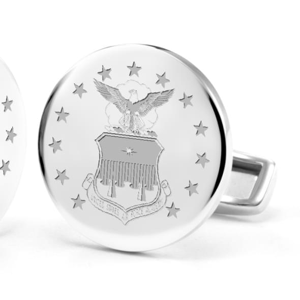 Air Force Sterling Silver Cufflinks