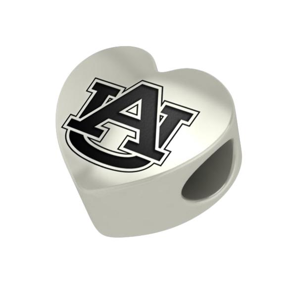 Auburn Heart Shaped Bead