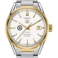 Merchant Marine Academy Men's TAG Heuer Two-Tone Carrera with Bracelet