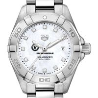 Embry-Riddle W's TAG Heuer Steel Aquaracer w MOP Dia Dial