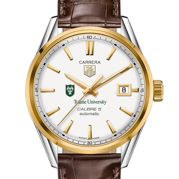 Tulane Men's TAG Heuer Two-Tone Carrera with Strap