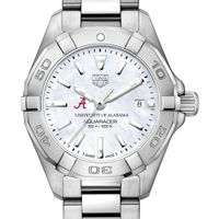 Alabama Women's TAG Heuer Steel Aquaracer with MOP Dial
