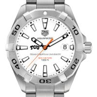 TCU Men's TAG Heuer Steel Aquaracer
