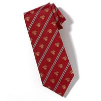 West Point Crest Tie in Red