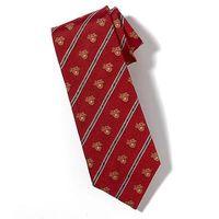 West Point Crest Tie in Red