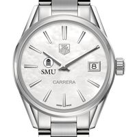SMU Women's TAG Heuer Steel Carrera with MOP Dial Image-1 Thumbnail