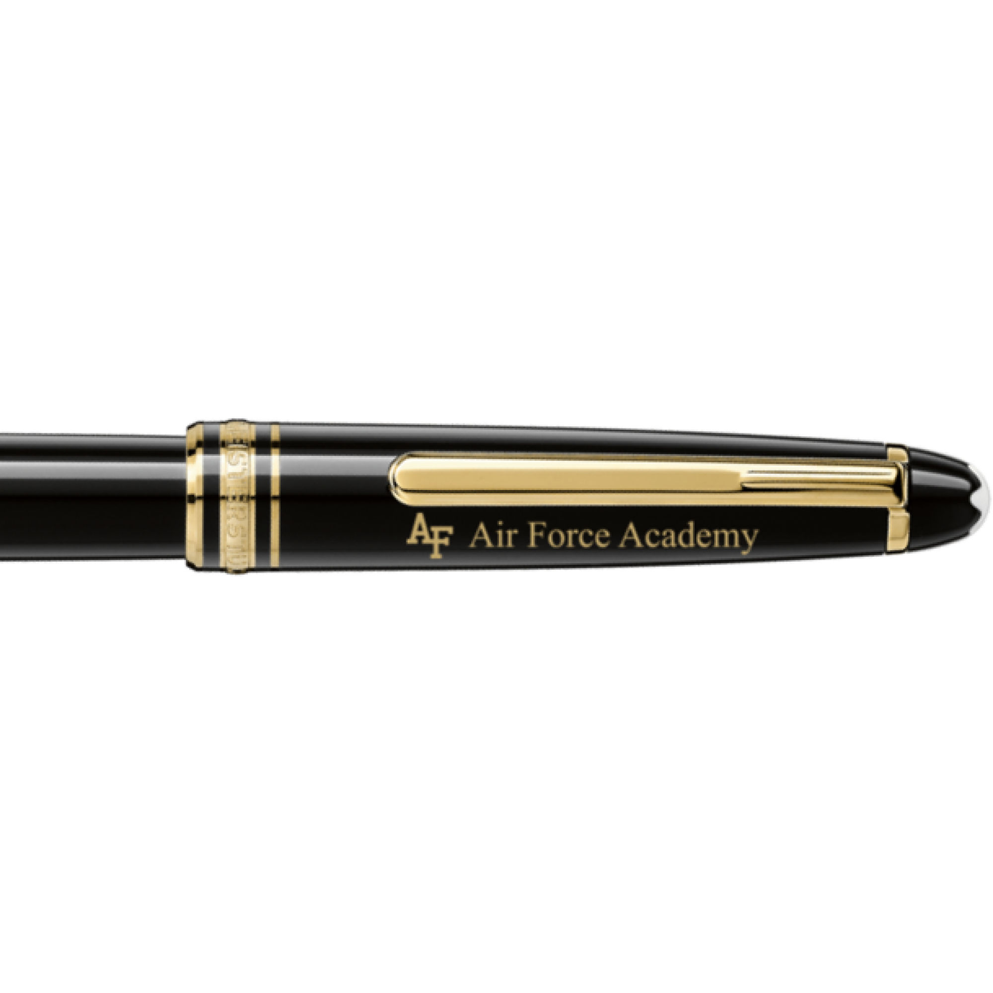US Air Force Academy Montblanc Meisterstück Classique Rollerball Pen in Gold
